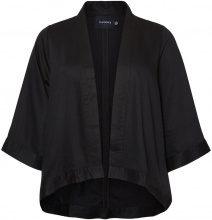 JUNAROSE Feminine 3/4 Sleeved Blazer Women Black