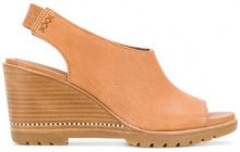 Sorel - Sandali con zeppa - women - Leather/rubber - 5.5, 6, 6.5, 7, 7.5, 8, 8.5, 9, 9.5, 10 - YELLOW & ORANGE