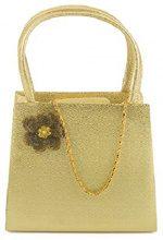 Farfalla 90224 Borsa a Mano da Donna, Colore Oro (Gold), Taglia Unica