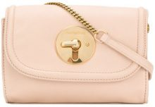 See By Chloé - Lois crossbody bag - women - Calf Leather - One Size - NUDE & NEUTRALS