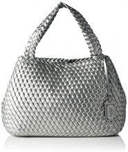 Buffalo 4100029, Borse a Tracolla Donna, Argento (Silver), 14x29x39 cm (B x H x T)