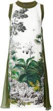Alberta Ferretti - Miniabito stampato - women - Silk/Cotone - 40, 42 - Verde