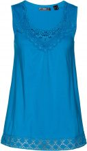 Top con pizzo (Blu) - bpc bonprix collection