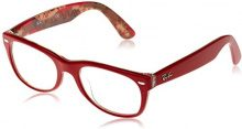 Ray-Ban 5184, Montature Unisex Adulto, Rosso (Red), 50