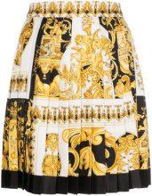 Versace - Gonna plissettata - women - Silk - 38 - YELLOW & ORANGE