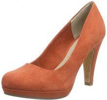 Marco Tozzi 22441 - Scarpe con Tacco Donna, Arancione (Brick 544), 37 EU