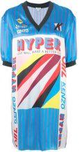 Kenzo - Vestito modello T-shirt - women - Silk/Polyester/Spandex/Elastane - S, XS, M, L - BLUE