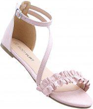 Sandalo con ruches (rosa) - BODYFLIRT