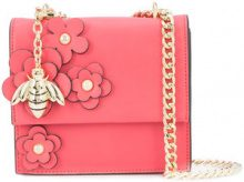 Christian Siriano - floral cross body bag - women - Polyester - OS - RED