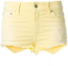 Dondup - Shorts denim - women - Cotone/Spandex/Elastane - 25, 28 - YELLOW & ORANGE