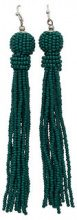 ONLY Tassel Earrings Women Green