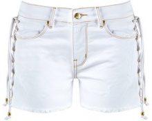 Amapô - denim shorts - women - Cotone/Elastodiene - 42, 36, 38, 40 - Bianco