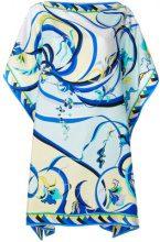 Emilio Pucci - Vestito con stampa a fiori - women - Silk - 44, 46, 38, 40, 42 - MULTICOLOUR