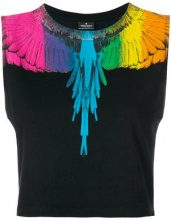 Marcelo Burlon County Of Milan - Top senza maniche 'Rainbow' - women - Cotton - XS, S, M, L - BLACK