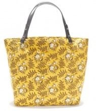 Borsa shopping fantasia con manici in pelle CLEA LOUIS