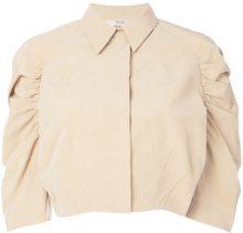 Prada Vintage - Giacca crop - women - Cotton/Silk - 36 - NUDE & NEUTRALS