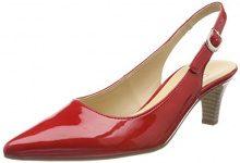 Gabor Shoes Fashion, Scarpe con Tacco Donna, Rosso (Red), 35.5 EU