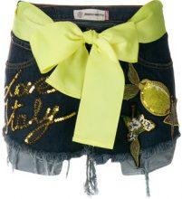 5 Progress - Shorts in denim vintage 'Lemon' - women - Cotton - S, M - BLUE