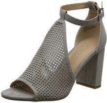 New Look Violeta, Scarpe con Cinturino Alla Caviglia Donna, Grey (Mid Grey 4), 39 EU