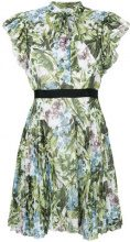 Pinko - Arleen dress - women - Cotton/Polyester/Viscose - 42, 44 - GREEN
