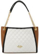 Love Moschino - Borsa Tote con design color-block - women - Leather - OS - WHITE