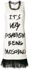 Moschino - Vestito senza maniche - women - Cotton/Polyamide/Spandex/Elastane/other fibers - 42, 38, 40 - WHITE