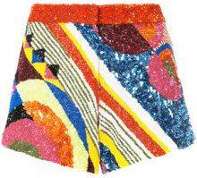 Manish Arora - Shorts - women - Nylon/Polyester - S - MULTICOLOUR