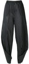 Humanoid - Pantaloni gessati - women - Cotton/Polyamide - XS, S, M, L - BLUE