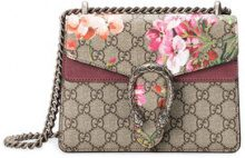 Gucci - Mini borsa 'Dionysus GG Bloom' - women - Suede/Canvas/metal - One Size - NUDE & NEUTRALS
