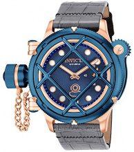 Invicta 16177 Orologio da Polso, Donna, Bracciale Pelle, Blu