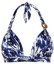 Cyell 107, Bikini Top Donna, Blau (Secret Garden 618), 38B