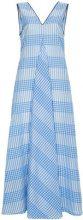 Ganni - Vestito senza maniche - women - Cotton/Polyamide/Polyester - 38, 40 - BLUE
