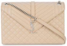 Saint Laurent - Borsa classica morbida - women - Leather - OS - NUDE & NEUTRALS