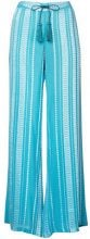 Zeus+Dione - Alcestes palazzo pants - women - Silk/Rayon - 38, 40 - BLUE