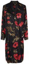 Y.A.S Floral Button Kimono Women Black