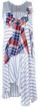 Antonio Marras - striped patchwork dress - women - Viscose/Cotton/Polyamide/Spandex/Elastane - 42 - WHITE