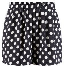 Y.A.S Dotted Elastic Shorts Women Blue