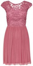 ONLY Detailed Short Sleeved Dress Women Pink