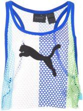 Fenty X Puma - Canotta crop - women - Polyester/Spandex/Elastane - XS, S, M, XXS, L, XL - BLUE