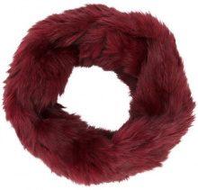 Yves Salomon - Sciarpa classica - women - Rabbit Fur - OS - RED