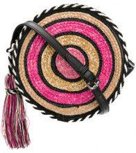 Rebecca Minkoff - Borsa a tracolla - women - Straw - One Size - PINK & PURPLE