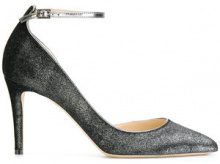 Jimmy Choo - Pumps 'Lucy 85' - women - Acrylic/Leather - 36, 36.5, 37.5, 38, 39 - GREY