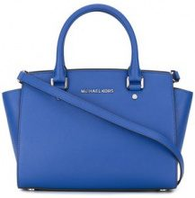 Michael Michael Kors - medium 'Selma' tote - women - Calf Leather - OS - BLUE