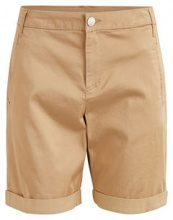 VILA Simple Shorts Women Beige