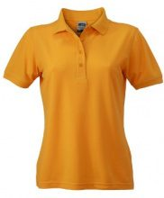 James & Nicholson - Polo Ladies Workwear, Polo Donna, Giallo (Gold-Yellow), XS (Taglia Produttore: XS)