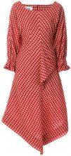 Vejas - Abito a quadretti - women - Polyester/Wool - S, M, L - Rosso