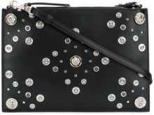 Versus - Clutch 'Medusa' - women - Calf Leather - OS - BLACK