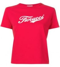 Fiorucci - T-shirt con logo stampato - women - Cotton - S, M, XS, L - RED