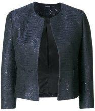 Tagliatore - Giacca con bottone singolo - women - Cotton/Acrylic/Polyester/Viscose - 38, 42, 44, 46, 48 - BLUE