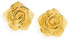 Drachenfels D ROF 21/AGG–Orecchini da donna Rose Of Antoine, argento dorato
